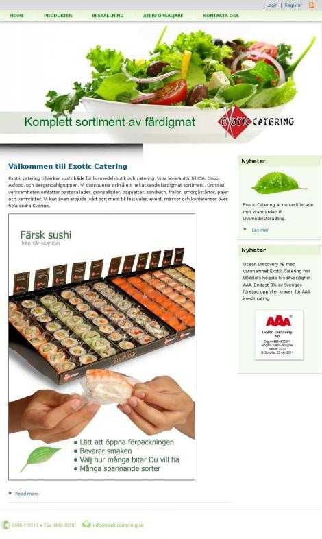 hemkörning livsmedel linköping